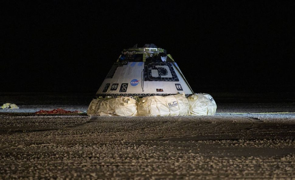 Boeing Space Starliner failed to touch orbit and landed in desert