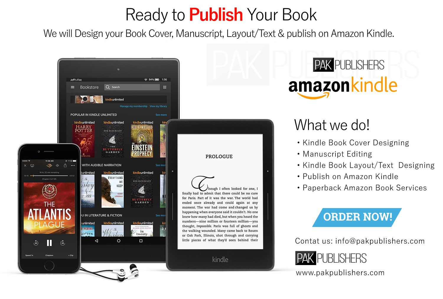Amazon Kindle KDP Book Cover Design, Interior Formatting and Manuscript Layout services