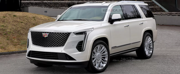 2021 Cadillac Escalade debuts with 38 inches of screen real estate