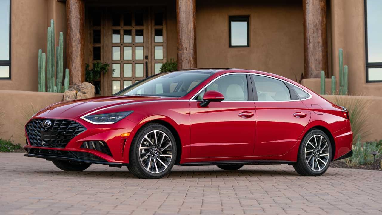 2020 Hyundai Sonata Hybrid first drive review Fuel-sippin in style