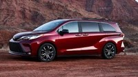 2021 Toyota Sienna minivan goes hybrid-only with a radical new design