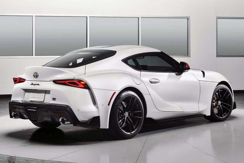 2021 Toyota Supra costs dollar 43,945, Supra 3.0 gets dollar 1000 price  increase