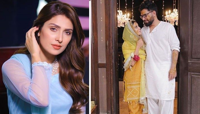 Ayeza Khan and other celebs send love to Iqra Aziz, Yasir Hussain as their Wedding festivities begin