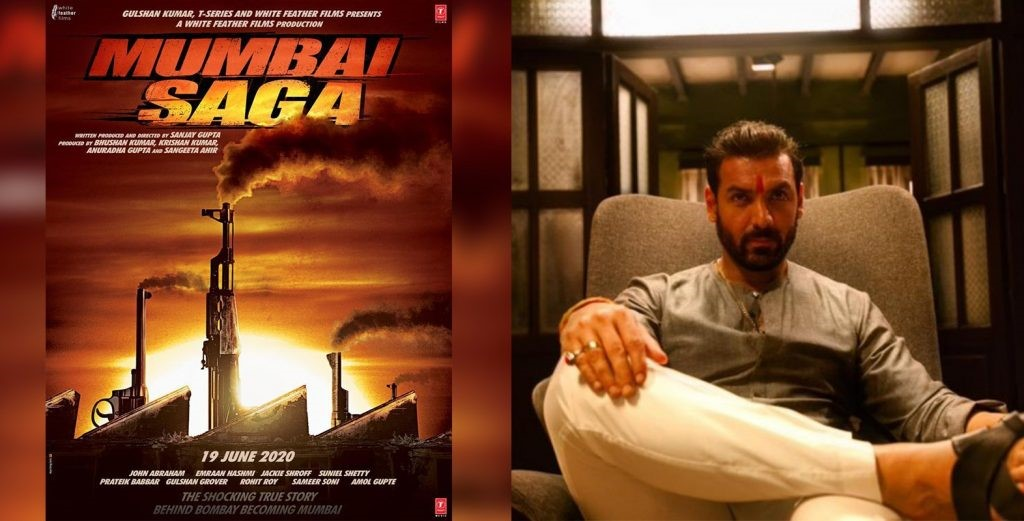MUMBAI SAGA FIRST LOOK: John Abraham is an angry gangster, Emraan Hashmi turns cop in Sanjay Gupta directorial