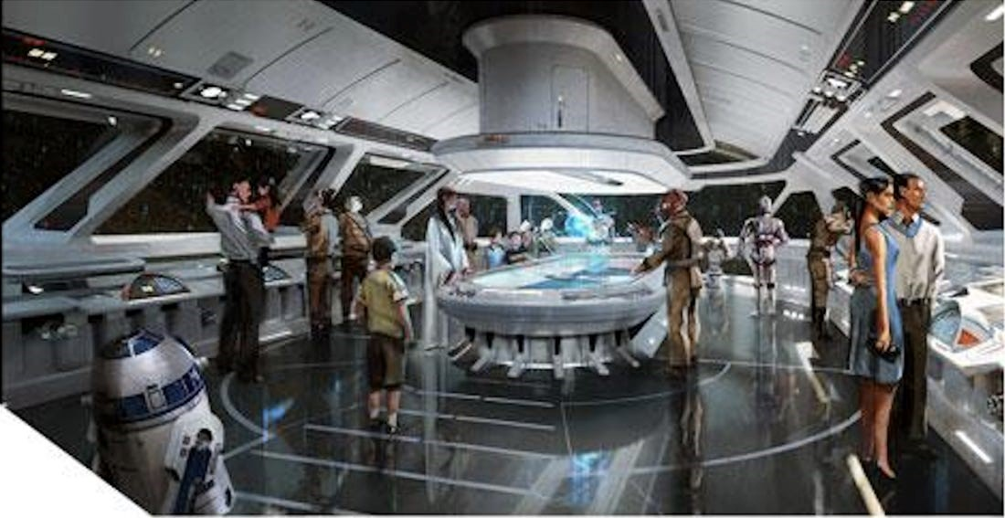 Disneys Star Wars resort will feature lightsaber training and much bigger galactic story