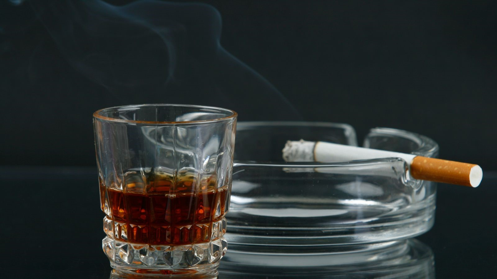 What smoking and drinking daily does to your brain