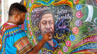 This Pakistani Truck Artist Honored George Floyd With His Brilliant Design