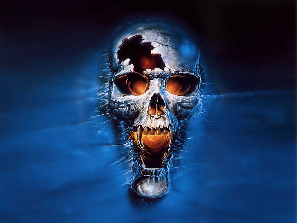 cool 3d skull wallpapers for Desktop