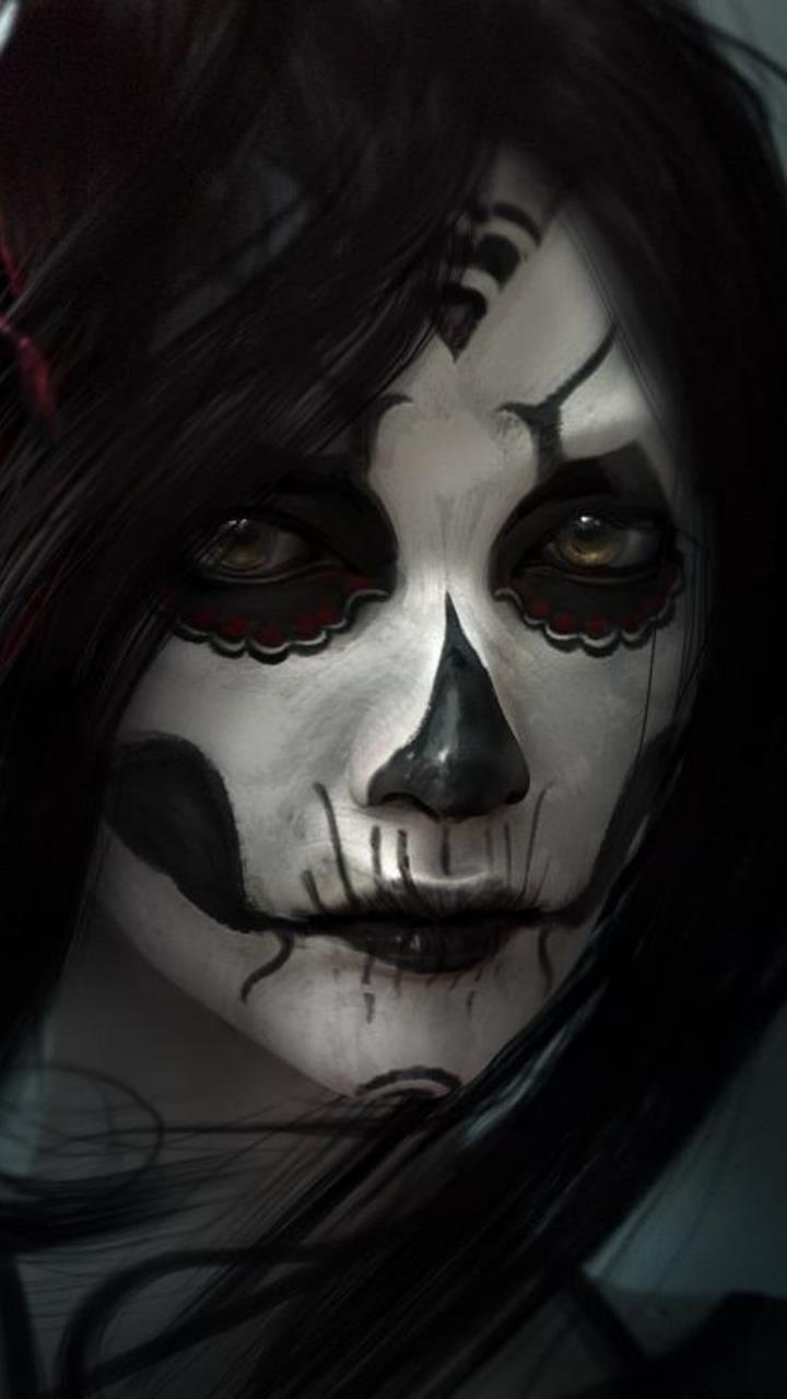 Horror Eyes Of Girls Wallpaper Hd Mobile Desktop Wallpaper