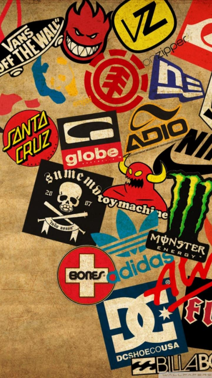 skateboard logos wallpaper for Mobile Phones