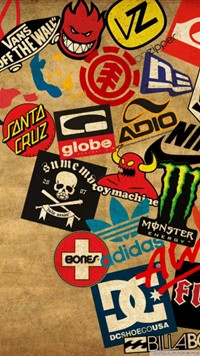 skateboard logos wallpaper