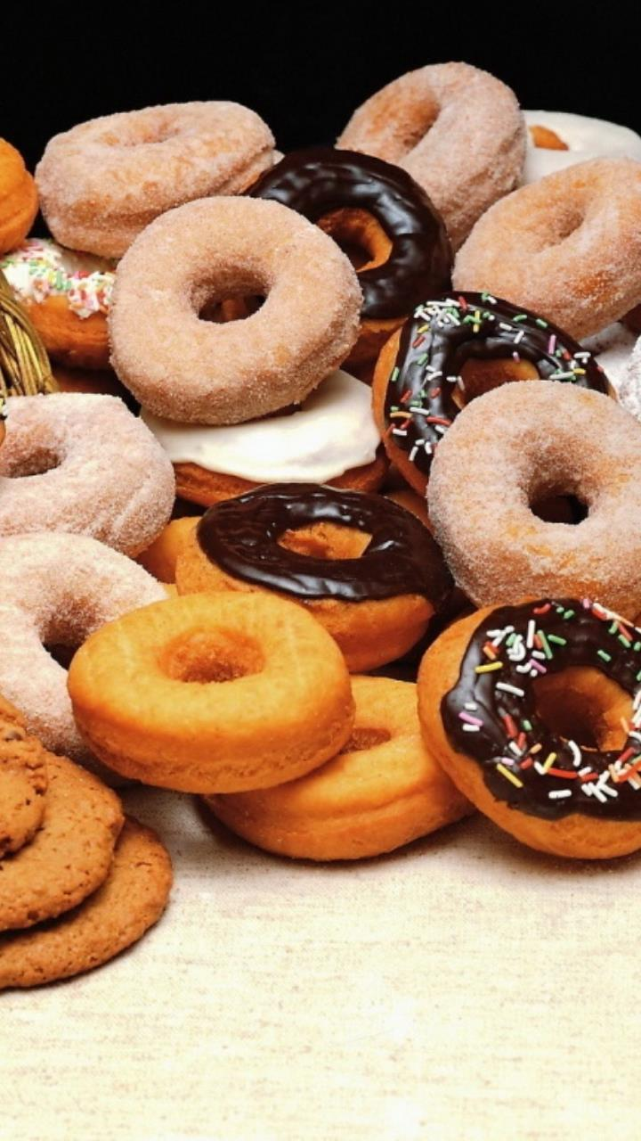 donuts and cookies for Mobile Phones