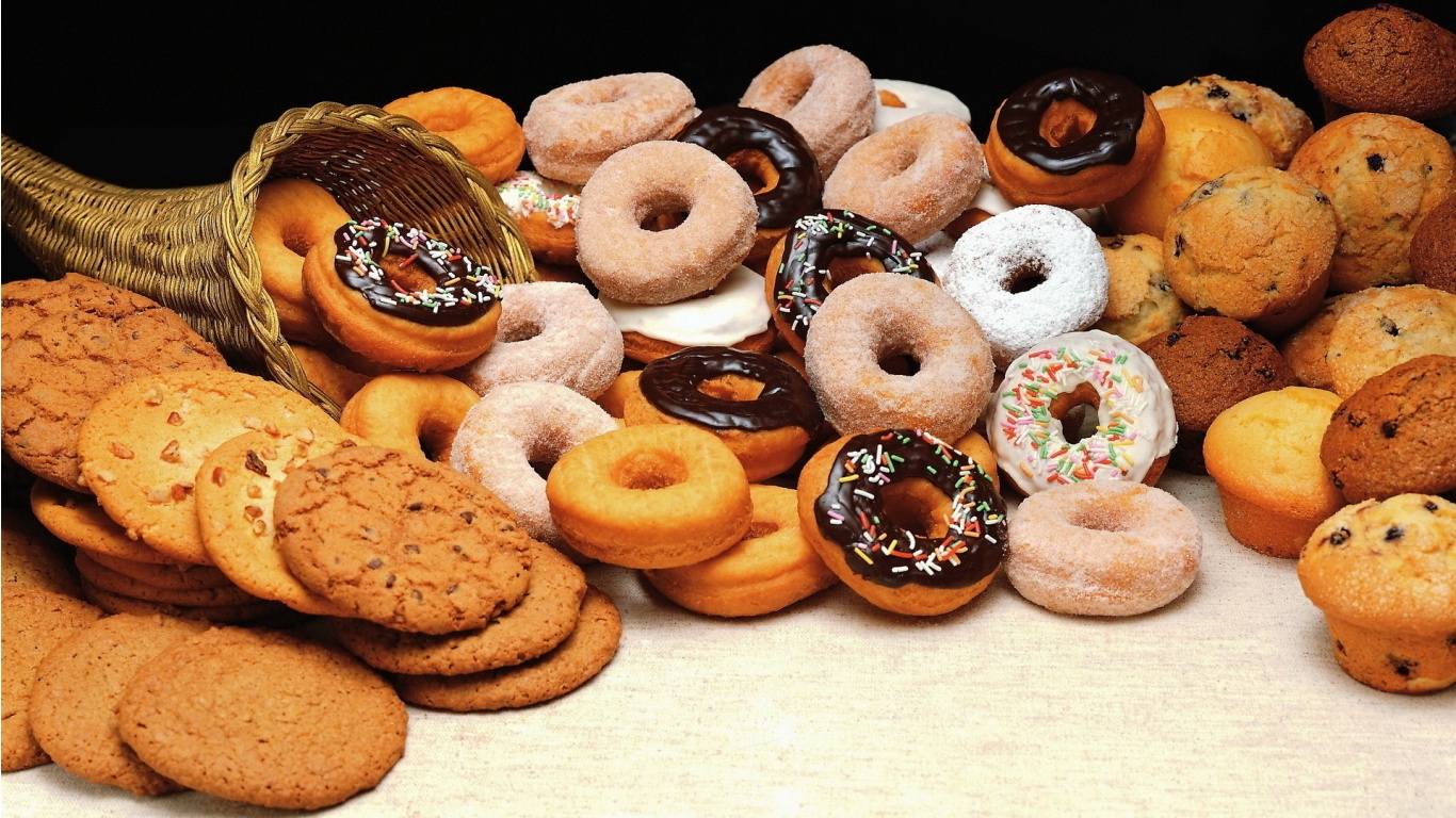 donuts and cookies for Desktop